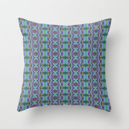 Funky pattern Throw Pillow