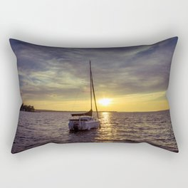 Sail into the Sun Rectangular Pillow