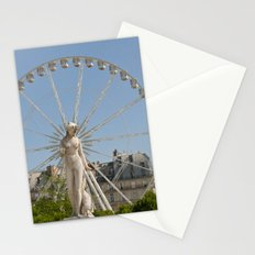 Marble Statue Paris Stationery Cards