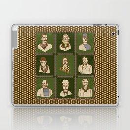 Men of the 'Stache Laptop & iPad Skin