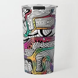 El reflejo en color Travel Mug