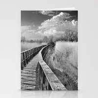 bridge Stationery Cards featuring Bridge by Guido Montañés