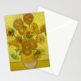 Vincent van Gogh - Sunflowers Stationery Cards