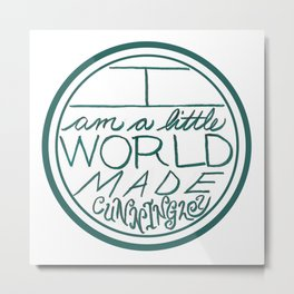 Little World Metal Print