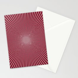Peppermint Candy Cane Vortex Stationery Cards