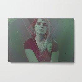 Young Grime Metal Print