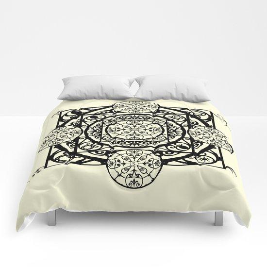Nouveau Garden Gate Mandala Comforters