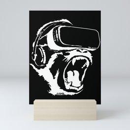 VR Gorilla Mini Art Print