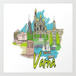 Varna Bulgaria Art Print