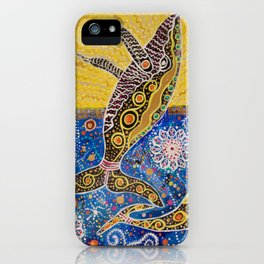 THE WHALES JOURNEY THE AWAKENING  iPhone Case