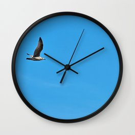Alone in the sky Wall Clock