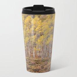Aspen Patterns Metal Travel Mug