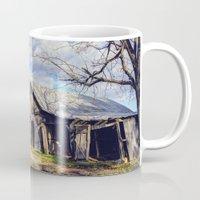 kentucky Mugs featuring Kentucky Barn by JMcCool