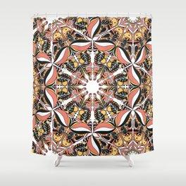 Arabesque doodle Shower Curtain