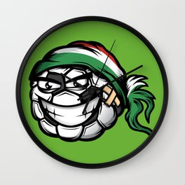 Football - Hungary Wall Clock