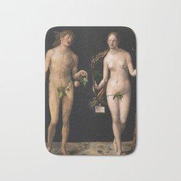 Albrecht Durer - Adam And Eve Bath Mat