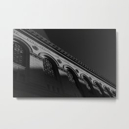 Boston Public Library Metal Print
