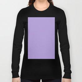 Light Pastel Purple Violet Long Sleeve T-shirt