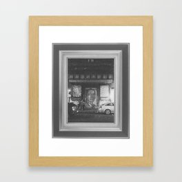 Night Street Framed Art Print