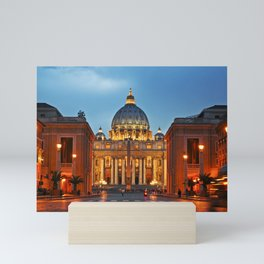 SAINT PETER'S CATHEDRAL in ROME Mini Art Print