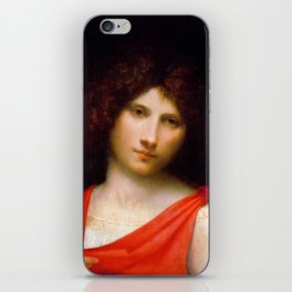 """Giorgione """"Young Man with Arrow"""" iPhone Skin"""