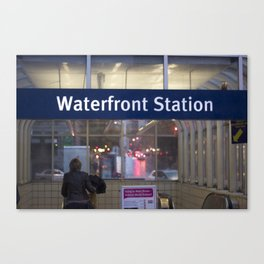 Waterfront Station Canvas Print