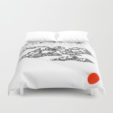 the Clouds Duvet Cover
