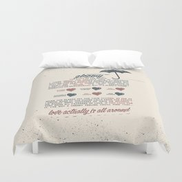 Love Actually Duvet Cover