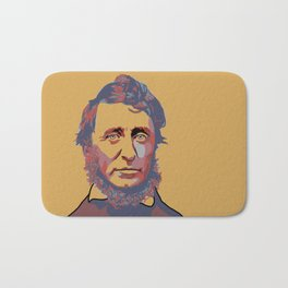 Henry David Thoreau Bath Mat