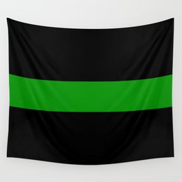 The Thin Green Line Wall Tapestry