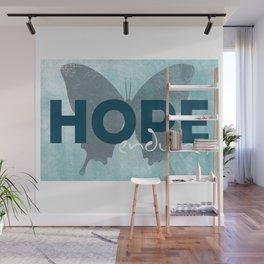 HOPE endures Wall Mural