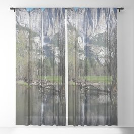 Yosemite Falls Sheer Curtain