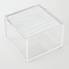Gray Weathered Wood Acrylic Box