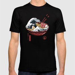 Great Ramen Wave White T-shirt