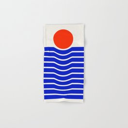 Going down-modern abstract Hand & Bath Towel