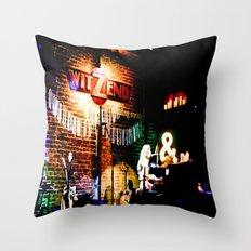 Concert at Witzend, Venice Throw Pillow