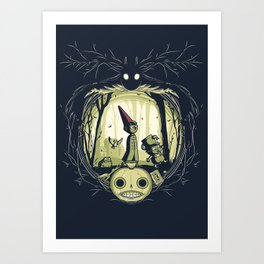 The Way Home Art Print