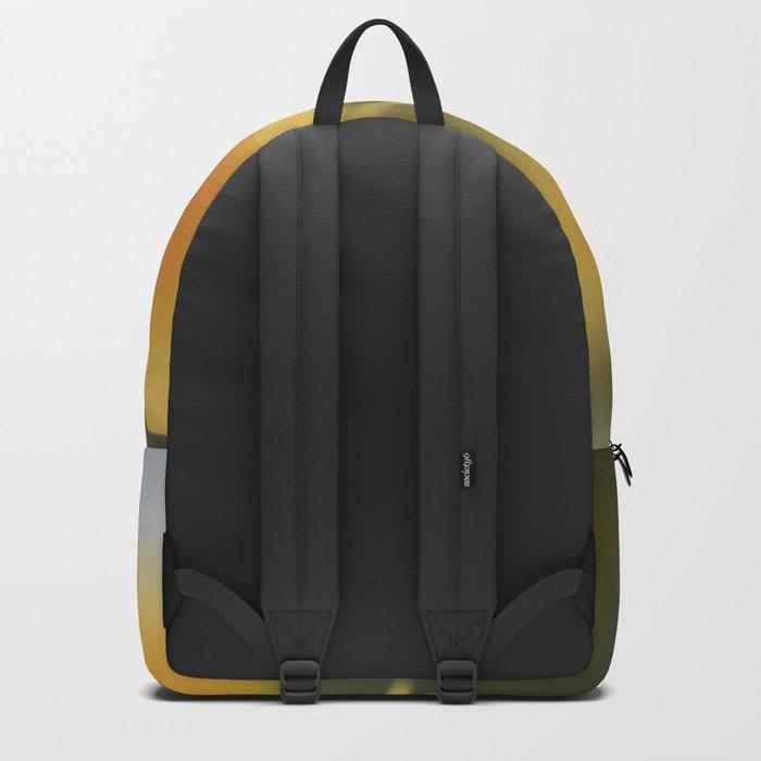 Happy Yellow Backpack