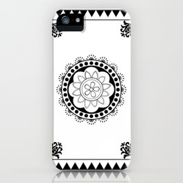 Mehindi Two iPhone Case