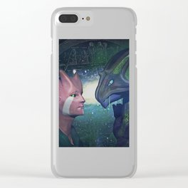 Supernatural  love Clear iPhone Case