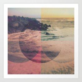 Cercles Art Print