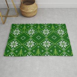 Beautiful Christmas Patterns Rug