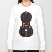 cello Long Sleeve T-shirts featuring Cello by J.Lauren