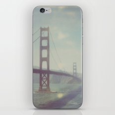 Golden Gate - Polaroid iPhone & iPod Skin