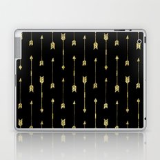 Sparkle Arrows - Dark Laptop & iPad Skin