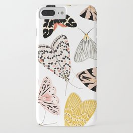 Moth's Diverse Beauty Pattern iPhone Case