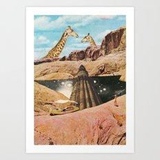 Sky of the past  Art Print