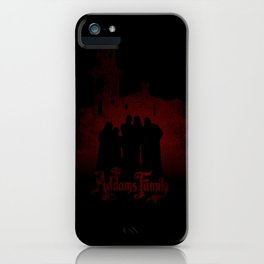 The Addams Family red version iPhone Case