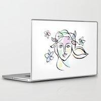 goddess Laptop & iPad Skins featuring Goddess by G_Stevenson
