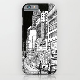 Central, Hong Kong iPhone Case